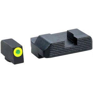AmeriGlo Protector Sights GLOCK 43 Green Front Black Rear Steel GL-705