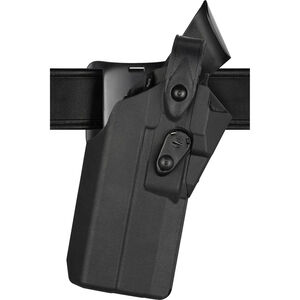 Safariland Model 7360RDS 7TS ALS/SLS Duty Holster Fits GLOCK 47 MOS with TLR-1 or Similar Lights and Trijicon RMR or Similar Red Dots Left Hand LVL III Mid-Ride SafariSeven Plain Black