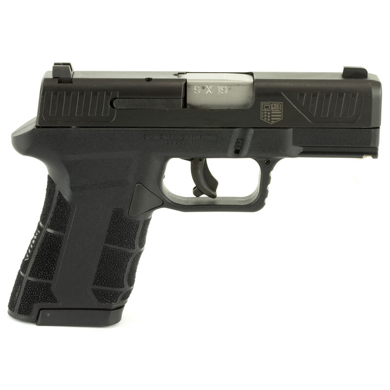"Diamondback AM2 Semi Auto Pistol 9mm 3.5"" Barrel 17 Rounds Black Polymer Frame Black QPQ Slide"