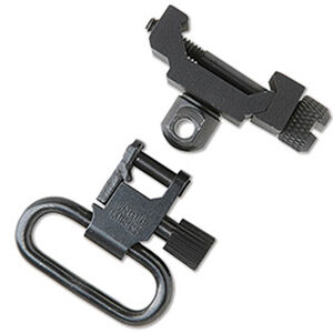"Uncle Mike's Picatinny Swivel Attachment Point Fixed Quick Detach 1"" Swivel Steel Black"