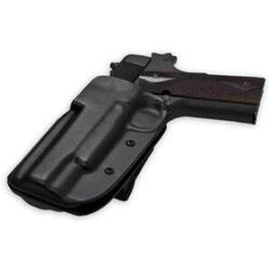 Blade-Tech OWB Holster S&W M&P Shield Left Hand Tek-Lok Polymer Black HOLX000897807467