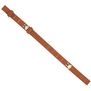"Butler Creek Military Rifle Sling 44"" Leather Brown"
