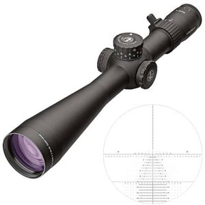 Leupold Mark 5HD 5-25x56 Rifle Scope Tremor 3 Non-Illuminated Reticle 35mm Tube 1/10 Mil Adjustments Side Focus Parallax First Focal Plane Matte Black Finish