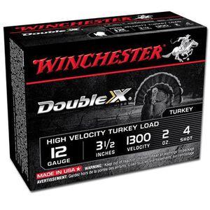 "Winchester Double X 12 Ga 3.5"" #4 Lead 2oz 10 Rounds"