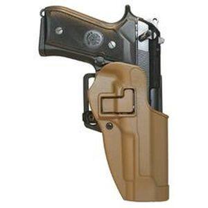 BLACKHAWK! SERPA CQC Beretta 92, 96, M9 Holster Right Hand Coyote Tan Finish 410504CT-R