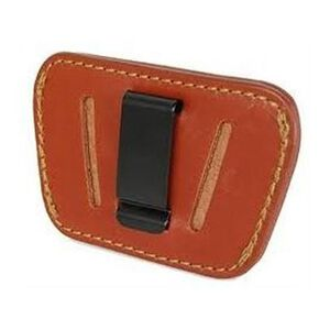 Personal Security Products Belt Slide Holster Leather Small Frame Brown 036T