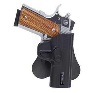 Bulldog Rapid Release Ruger LC9 with Laser Paddle Holster Right Hand Polymer Black