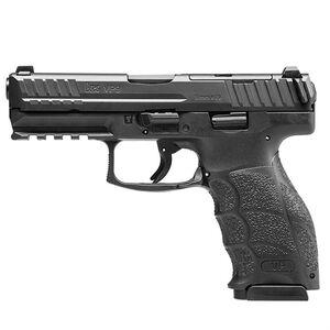 "H&K VP9 Optics Ready 9mm Luger Semi Auto Pistol 4.09"" Barrel 17 Rounds Striker Fired Fixed Sights Polymer Frame Matte Black"