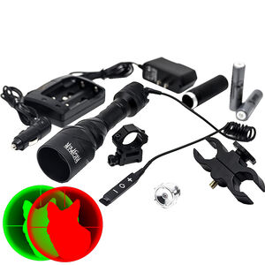 Predator Tactics Coyote Reaper Rifle Kit Red and Green LEDs