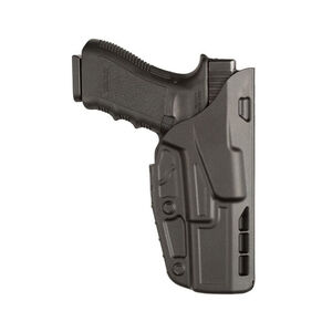 Safariland Model 7377 7TS ALS Clip-on Belt Holster Right Hand Fits HK VP9 SafariSeven Black
