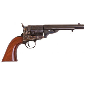 "Cimarron Firearms 1860 Richards-Mason .45 LC Single Action Revolver 5.5"" Barrel 6 Rounds Walnut Grips Millennium Case Hardened/Blued Finish"