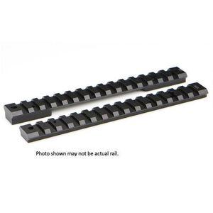 Warne Mountain Tech One Piece Picatinny/Weaver Style Scope Base 20 MOA Howa/Vanguard Long Action Aluminum Matte Black