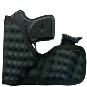 Desantis Cargo Nemesis Sub Compact Semi Auto Handgun Holster Ambidextrous Nylon with Magazine Pouch Black M52BJE1Z0