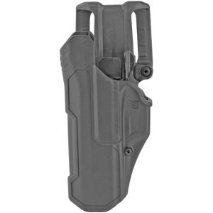 BLACKHAWK! T-Series LVL 2 Duty Belt Holster for SIG Sauer P320/P250 Left Hand Black