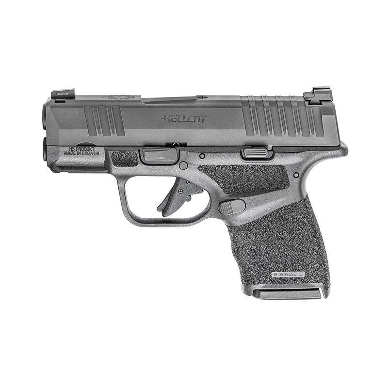 "Springfield Armory HELLCAT OSP 9mm Semi-Auto Pistol 3"" Barrel Optics-Ready 11 Rounds Black"