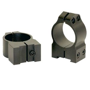 Warne CZ Rings 30mm Medium Matte Finish 14BM