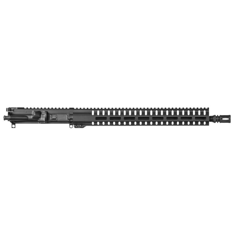 "CMMG Resolute 100 Mk4 .22 Long Rifle AR-15 Complete Upper Receiver Assembly 17"" Barrel A2 Comp RML15 Free Float M-LOK Hand Guard Black Finish"