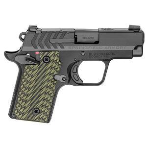 "Springfield Armory 911 .380 ACP Semi Auto Pistol 2.7"" Barrel 7 Rounds Black"