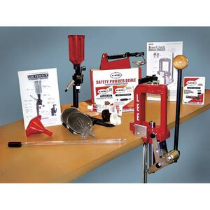 Lee Precision 50th Anniversary Breech Lock Challenger Single Stage Press Kit Red 90050