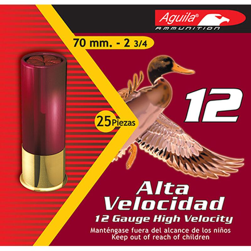 "Aguila High Velocity 12 Gauge Shotshells 25 Rounds 2 3/4"" 1 1/4 oz #9 1330 FPS 1CHB1209"