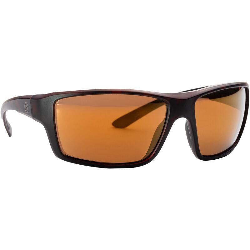 Magpul Summit Shooting Glasses Tortoise Frame Polarized Anti-Reflective Bronze Lenses
