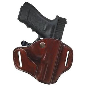 Bianchi #82 CarryLok Hip Holster Govt 1911 Fullsize, Browning Hi-Power, CZ 75 Right Hand Leather Tan