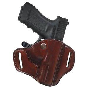 Bianchi #82 CarryLok Hip Holster Govt 1911 Fullsize, Browning Hi-Power, CZ 75 Right Hand Leather Tan