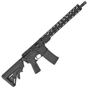 "Radical Firearms 300 AAC Blackout Semi-Auto Rifle 16"" Barrel 30 Rounds Flat Top Optics Ready B5 Bravo Stock Black Finish"