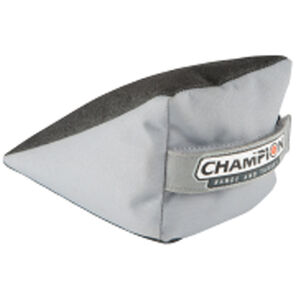 Champion Range and Target  Wedge Rear Bag Nylon and Tough Hide Gray and Black
