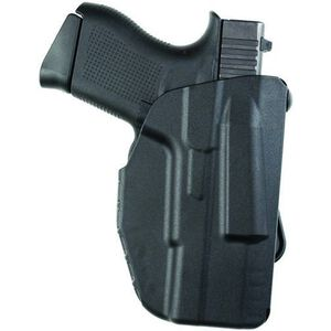 Safariland 7371 7TS ALS Concealment XDS/M&P Shield/PPS M2 Paddle Holster Right Hand Synthetic Plain Black