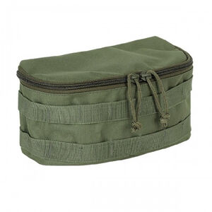 "Voodoo Tactical MOLLE Compatible Rounded Utility Pouch Size 10""Wide x 5""Tall x 5"" Deep Olive Drab"
