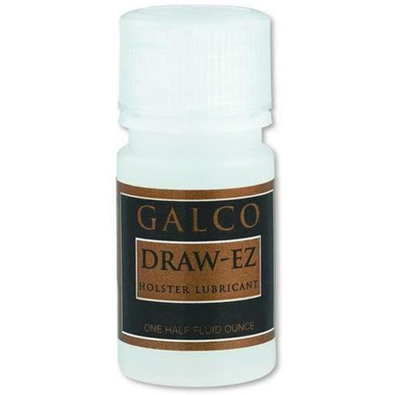 Galco Gunleather Draw-EZ Holster Lubricant Cleaner and Conditioner 0.5 fl.oz. Bottle