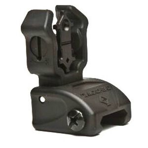 Diamondhead AR-15 Rear Flip-Up Sight, NiteBrite Black