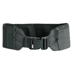 "Voodoo Tactical Padded MOLLE Pistol or Duty Belt Small/Medium (fits waist size 28""-36"") Black"
