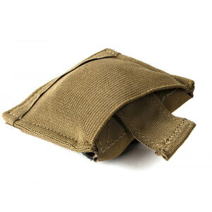 Blue Force Gear Belt Mounted Dump Pouch 70D Ripstop Nylon/ULTRAcomp High Performance Laminate/Ten Speed Mil-Grade Elastic Coyote Brown