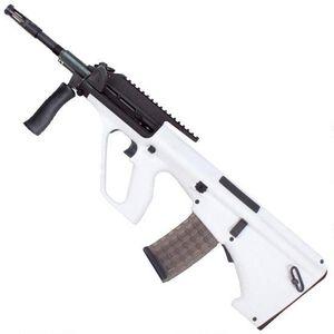 "Steyr AUG A3 M1 Semi Auto Rifle 5.56 NATO 16"" Chrome Lined Barrel 30 Round AUG Pattern Magazine with High Rail White Finish AUGM1WHIH"