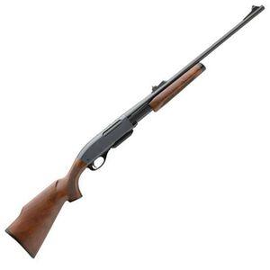 "Remington Model 7600 Pump Action Rifle .270 Win 22"" Barrel 4 Rounds Iron Sights Monte Carlo Walnut Stock Blued Barrel 24667"