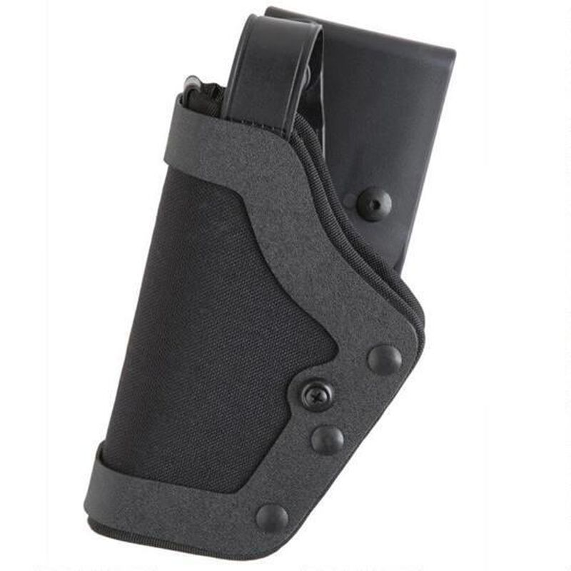 """Uncle Mike's PRO-3 S&W 9/40, Sub Compact .45 3.5"""" to 4"""" Barrel Duty Holster Left Hand Size 18 Kodra Nylon Black 35201"""