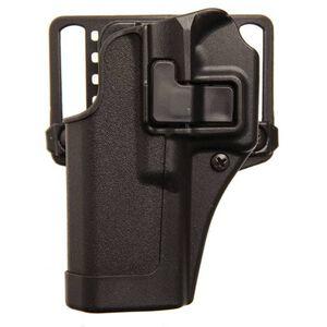 BLACKHAWK! SERPA CQC Concealment OWB Paddle/Belt Loop Holster S&W M&P Shield 9/40 Left Hand Polymer Matte Black Finish