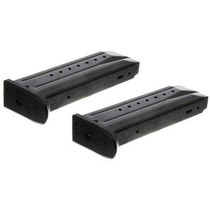 Ruger SR9/SR9C/9E 9mm Magazine 17 Rounds Steel Black 2 Pack 90449