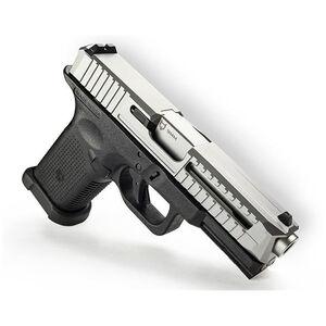 """Lone Wolf LTD19 V1 9mm Luger Semi Auto Pistol 4"""" Barrel 15 Rounds Silver Black"""