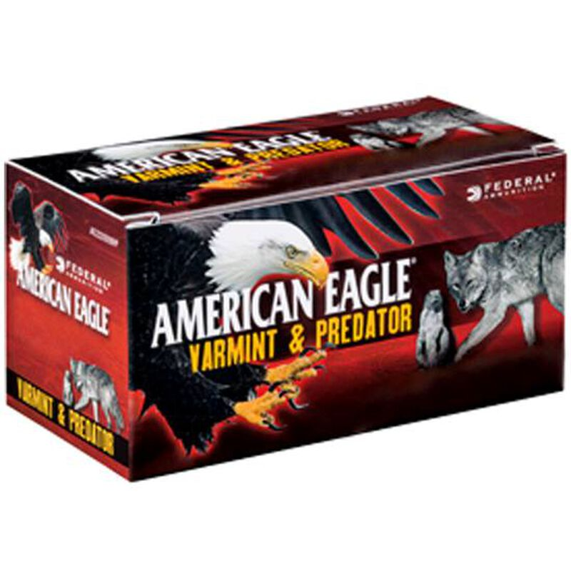 American Eagle .17 Hornet Ammunition 50 Rounds Tipped JHP 20 Grains