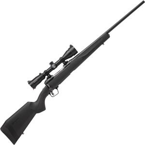 """Savage 110 Engage Hunter XP Package Bolt Action Rifle .338 Win Mag 24"""" Barrel 3 Rounds with 3-9x40 Scope Matte Black Finish"""
