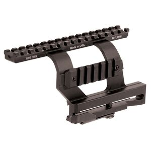 Leapers UTG PRO AK-47 Quick Detach Side Mount Scope Mount Aluminum Black MTU016