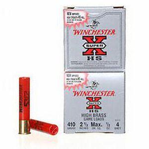 """Winchester Super-X Game .410 2-1/2"""" #4 1/2oz 250 Rnd Case"""