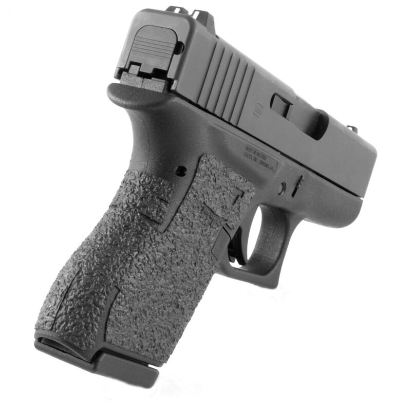 TALON Grips for GLOCK 43 Rubber Adhesive Black 100R