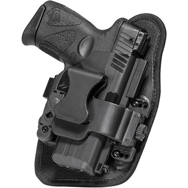 Alien Gear ShapeShift Appendix Carry S&W M&P Shield .45 Caliber IWB Holster Right Handed Synthetic Backer with Polymer Shell Black