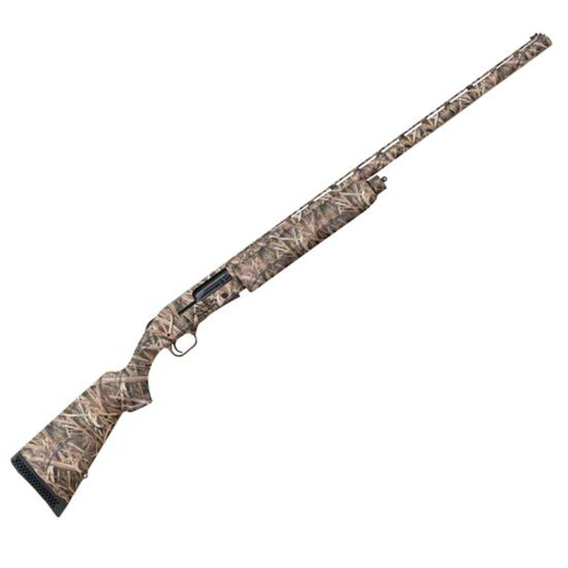 "Mossberg Model 930 Pro-Series Waterfowl Semi Auto Shotgun 12 Gauge 28"" Vent Rib Barrel 3"" Chamber 4 Rounds Synthetic Stock Mossy Oak Shadowgrass Blades 85141"