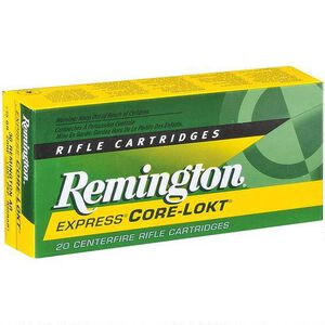 Remington Express 6.5 Creedmoor Ammunition 20 Rounds 140 Grain Core-Lokt Pointed Soft Point Projectile 2700 fps