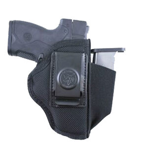 DeSantis Pro Stealth S&W M&P Shield 9/40 with Viridian Reactor Inside Waistband Holster Nylon Black
